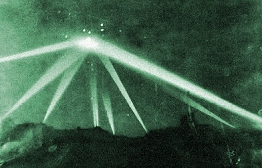 "What's the real story behind the Battle of Los Angeles, and how are ""giant butterflies"" and UFOs involved?"
